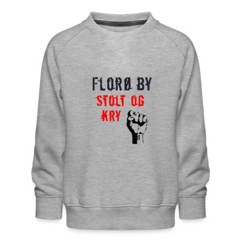Florø by - Premium-genser for barn