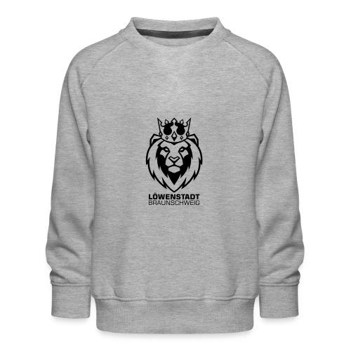 Löwenstadt Design 8 schwarz - Kinder Premium Pullover