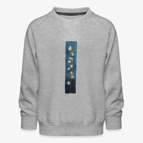 Cotton flowers - Kids' Premium Sweatshirt