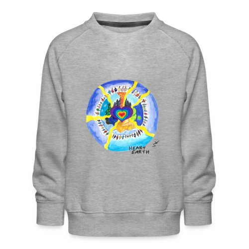 HEART EARTH - Kinder Premium Pullover