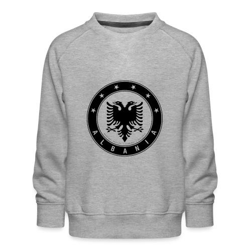 Patrioti Albania Black - Kinder Premium Pullover