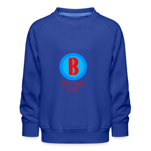 Rep that Behan 872 logo guys peace - Kids' Premium Sweatshirt