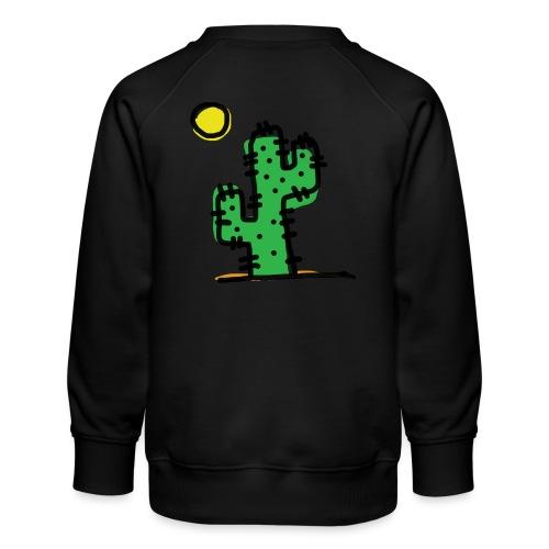Cactus single - Felpa premium da bambini
