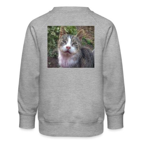 Katze Max - Kinder Premium Pullover