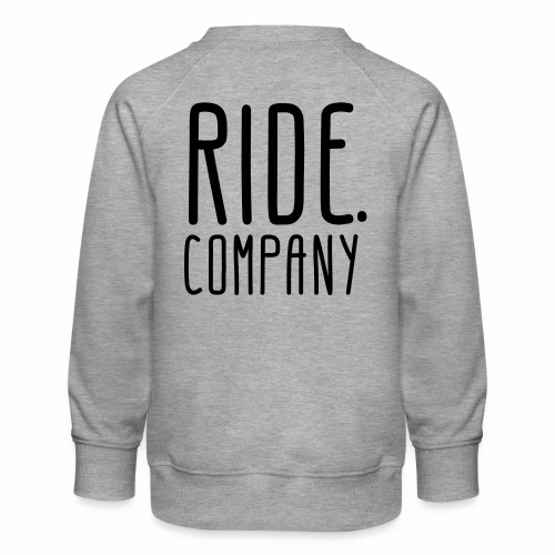 RIDE.company - just RIDE - Kinder Premium Pullover