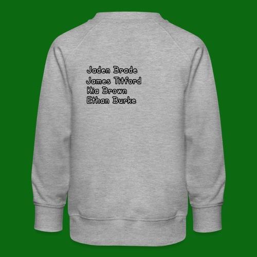 Glog names - Kids' Premium Sweatshirt