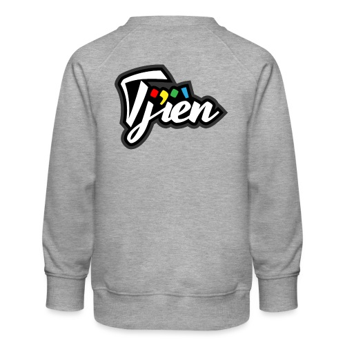Tjien Logo Design - Kinderen premium sweater