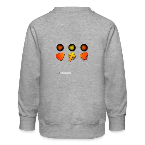 Design Dreieinigkeit - Kinder Premium Pullover
