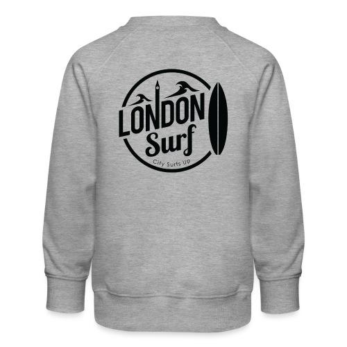 London Surf - Black - Kids' Premium Sweatshirt
