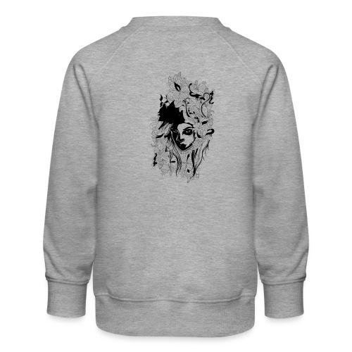 Akasacian tshirt design 611 - Sudadera premium para niños y niñas