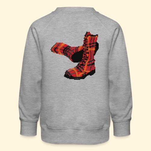 Rock and Shoes - Rock'n'll Shoes - Sweat ras-du-cou Premium Enfant