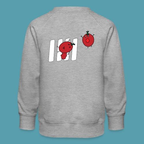 tomaatit - Lasten premium-collegepaita