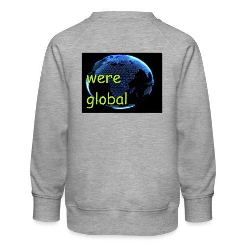 Were Global - Lasten premium-collegepaita