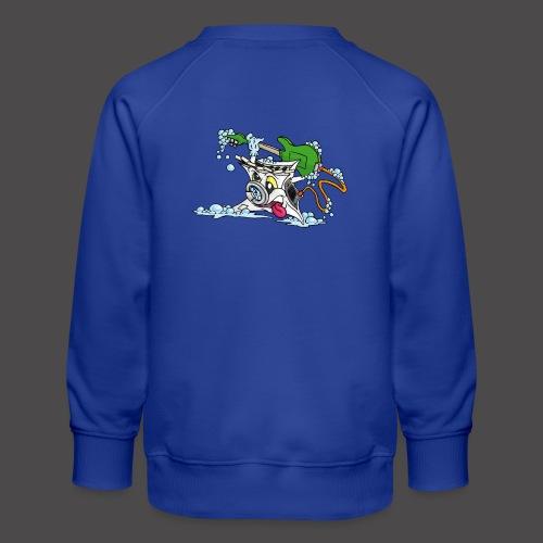 Wicked Washing Machine Wasmachine - Kinderen premium sweater