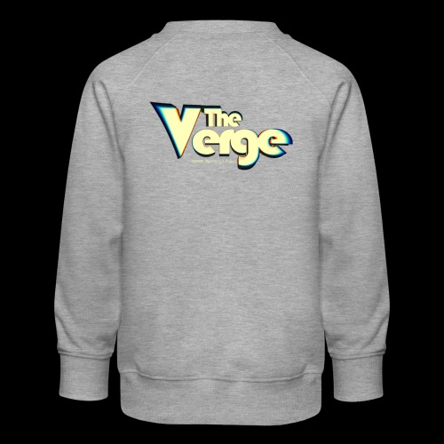 The Verge Vin - Sweat ras-du-cou Premium Enfant