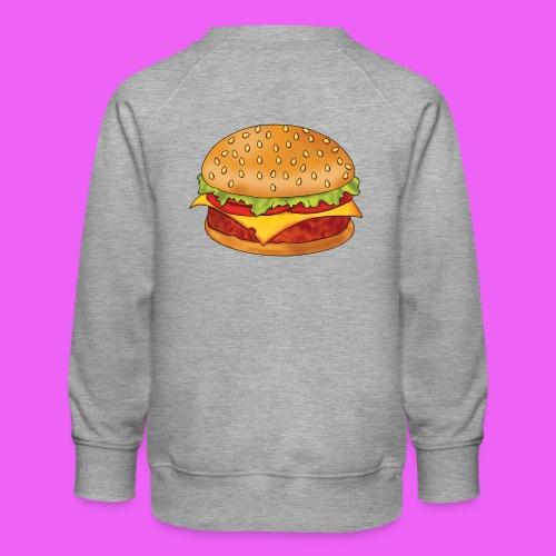 hamburguesa - Sudadera premium para niños y niñas