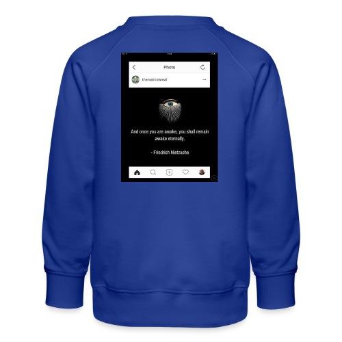 81F94047 B66E 4D6C 81E0 34B662128780 - Kids' Premium Sweatshirt