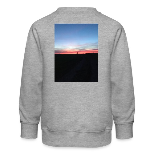 late night cycle - Kids' Premium Sweatshirt