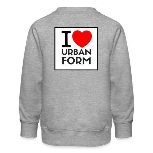 I LOVE URBAN FORM - Sweat ras-du-cou Premium Enfant
