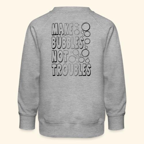 Bubbles002 - Kinderen premium sweater