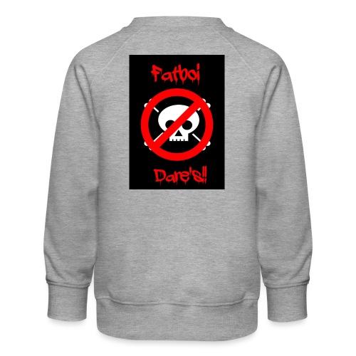 Fatboi Dares's logo - Kids' Premium Sweatshirt