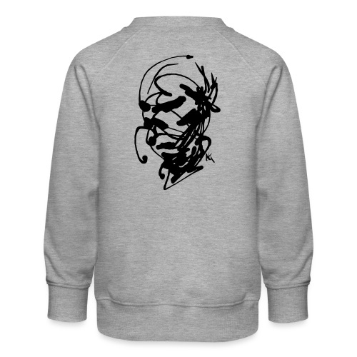 face - Kids' Premium Sweatshirt