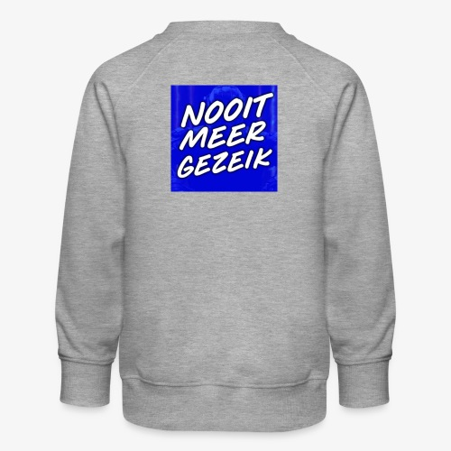 De 'Nooit Meer Gezeik' Merchandise - Kinderen premium sweater