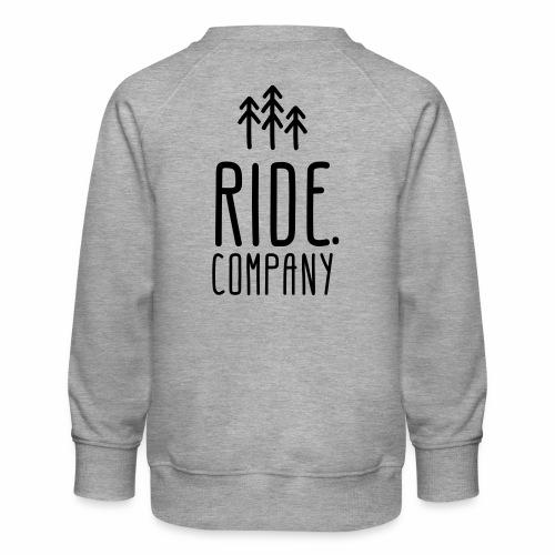 RIDE.company Logo - Kinder Premium Pullover