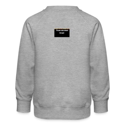 T-shirt staff Delanox - Sweat ras-du-cou Premium Enfant