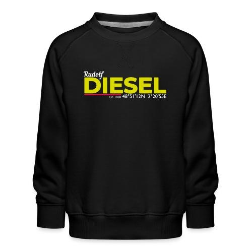 Rudolf Diesel geboren in Paris I Dieselholics - Kinder Premium Pullover