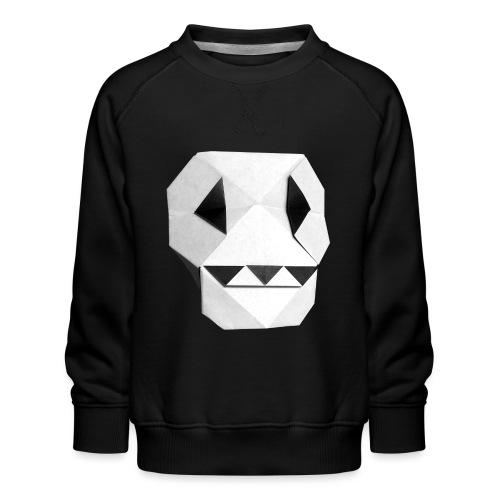 Origami Skull - Skull Origami - Calavera - Teschio - Kids' Premium Sweatshirt