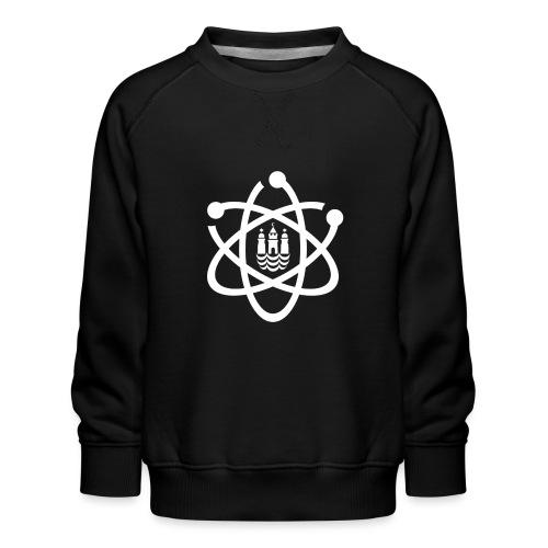 March for Science København logo - Kids' Premium Sweatshirt