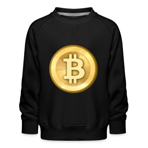 Bitcoin Gold Coin - Kids' Premium Sweatshirt