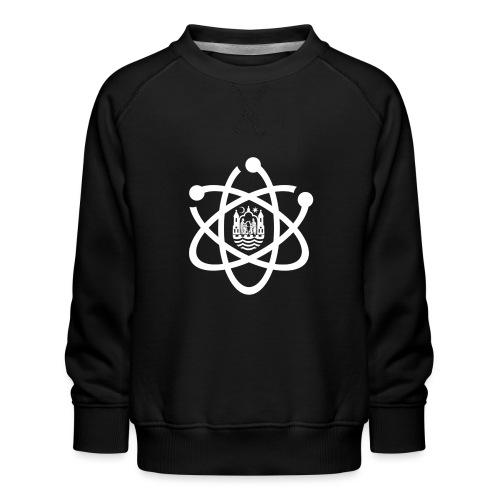 March for Science Aarhus logo - Kids' Premium Sweatshirt