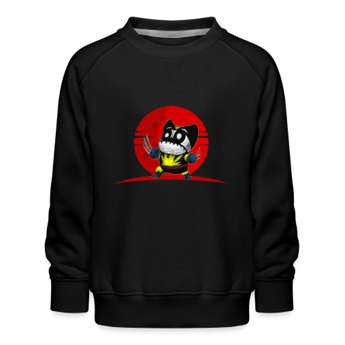 Karate Ninja Tigerkralle Panda Bär Kung Fu - Kinder Premium Pullover