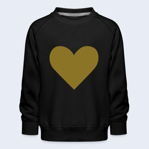 Heart - Kinderen premium sweater