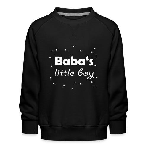 Baba's litte boy Babybody - Kinder Premium Pullover
