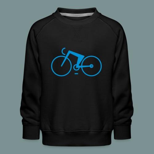 Bikes against cancer - Børne premium sweatshirt