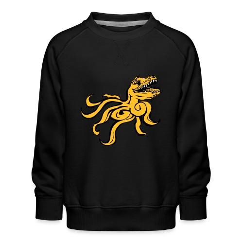 Octorex Dinoface - Kids' Premium Sweatshirt