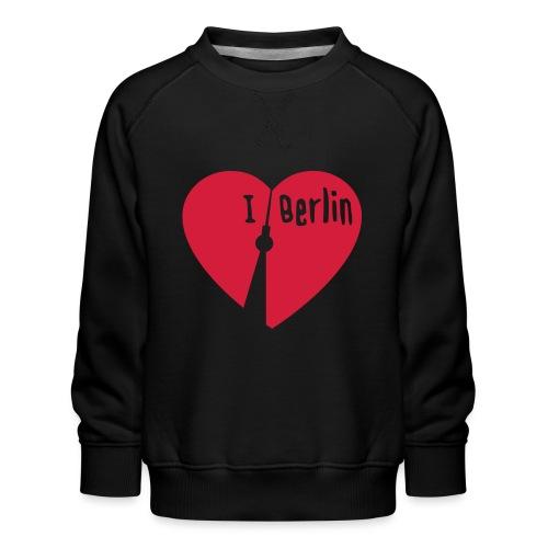 I love Berlin (1-farbig) - Kinder Premium Pullover