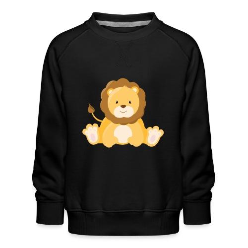 SAFARI Löwe - Kinder Premium Pullover