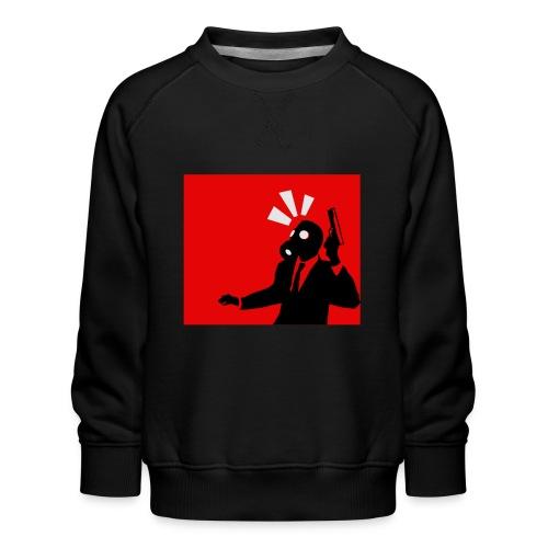 Gasmask - Kids' Premium Sweatshirt
