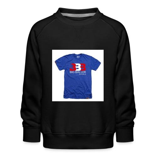 ClassicBBBroyalredwhite 1024x1024 - Kinderen premium sweater