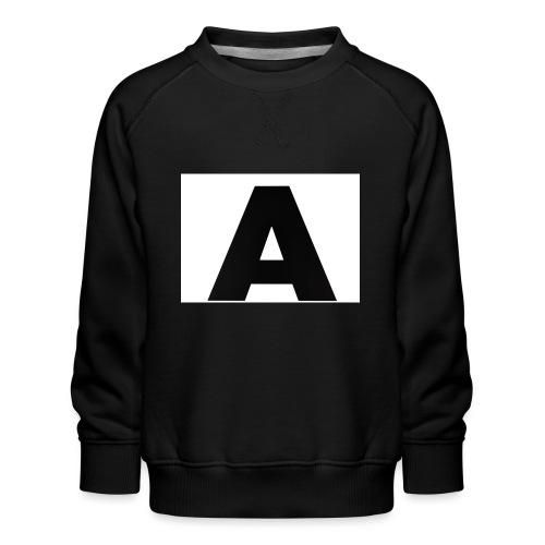 A-685FC343 4709 4F14 B1B0 D5C988344C3B - Børne premium sweatshirt