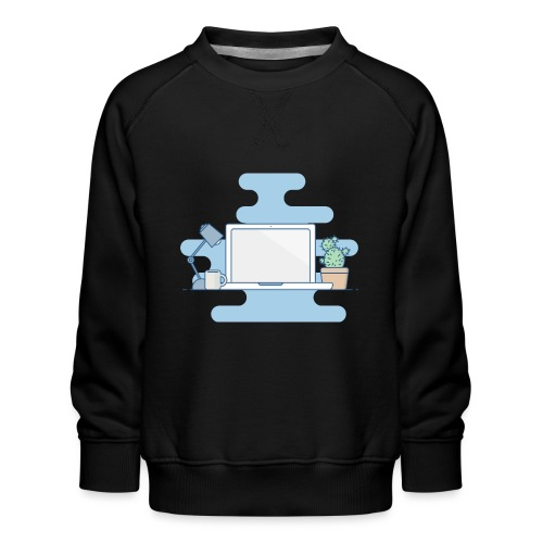 Arbeitstisch - Kinder Premium Pullover