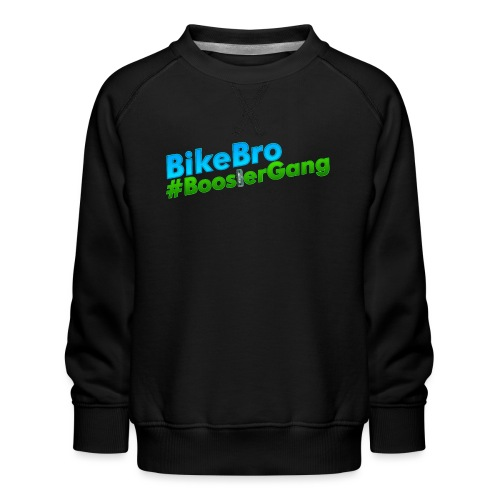 Bikebro #BoosterGang - Børne premium sweatshirt