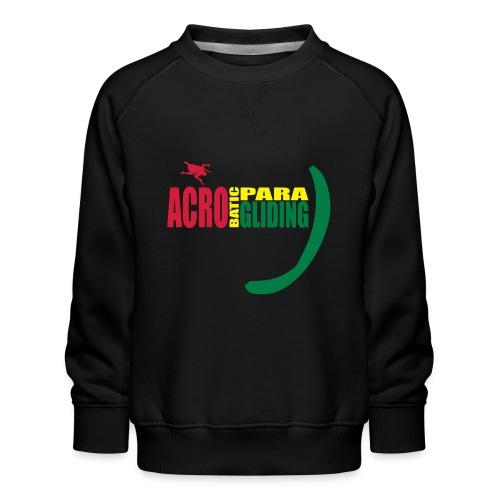 acrobaticparagliding 1 - Kinder Premium Pullover