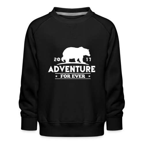 ADVENTURE FOR EVER - GRIZZLY - Felpa premium da bambini
