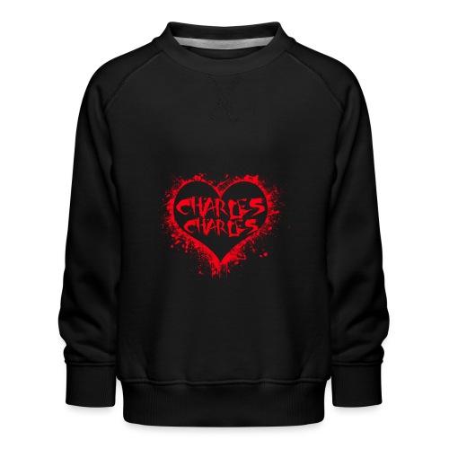 CHARLES CHARLES VALENTINES PRINT - LIMITED EDITION - Kids' Premium Sweatshirt