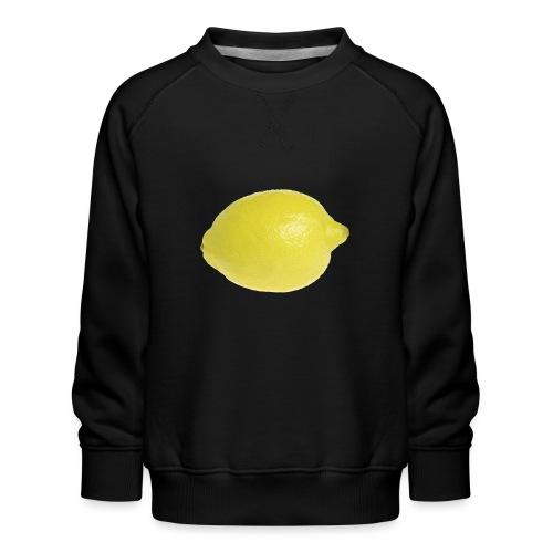 Zitrone - Kinder Premium Pullover